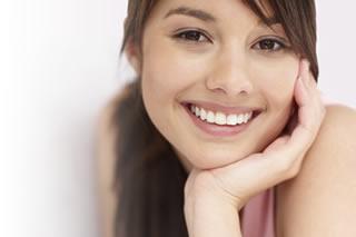 lovely white smile